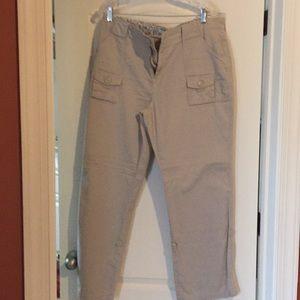 Ladies tan pants